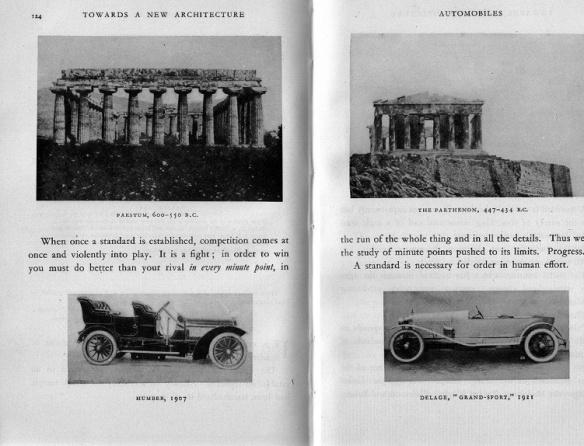 Η μηχανή στην αρχιτεκτονική:σελίδες από το «Για μια αρχιτεκτονική» του Le Corbusier