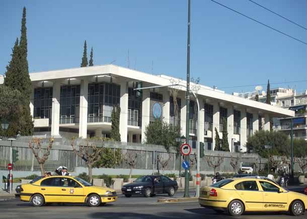 Μοντερνισμός σε μίμηση της κλασικής αρχαιότητας. Walter Gropius, Αμερικάνικη πρεσβεία (1959-1961)