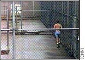 ΧΧΧVIII. Προαυλισμός κρατούμενου σε σύγχρονη φυλακή απομόνωσης των ΗΠΑ.
