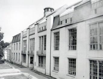 Το κτίριο της σχολής στη Βαϊμάρη