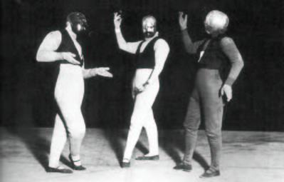 Oskar Schlemmer, Gesture Dance, 1927