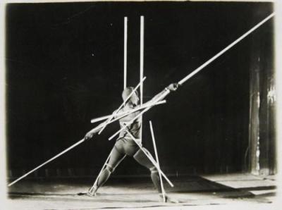 Oskar Schlemmer, Pole Dance, 1920