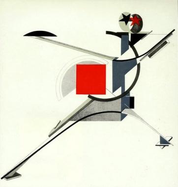 El Lissitzky, Ο νέος άνθρωπος, 1923