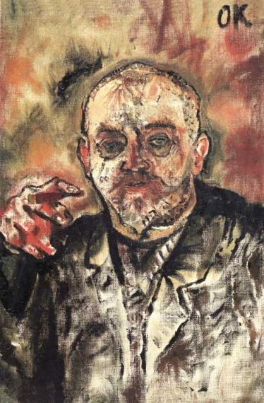 Oskar Kokoschka, Paul Scheerbart, 1910