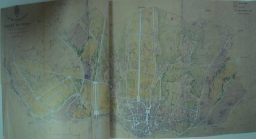 Τοπογραφικό σχέδιο Οπόρτο 1937 (Muzio & Piacentini)