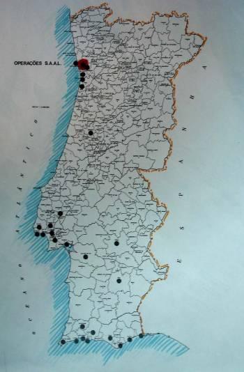 Πρόγραμμα S.A.A.L. Σε ποιές περιοχές της Πορτογαλίας πραγματοποιήθηκε
