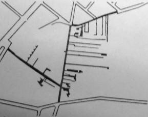 Διαμόρφωση των δρόμων πριν την επέμβαση του S.A.A.L.