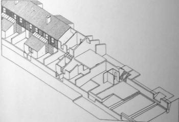 Αξονομετρικό μονάδας κατοικίας Antas