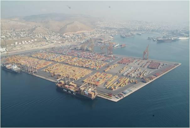 Η COSCO στον Πειραιά