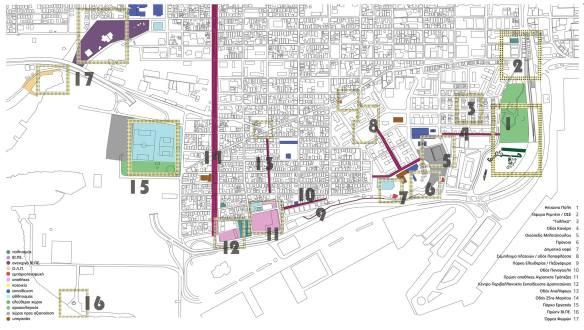 Εικόνα 3: Γενική διάταξη σχεδίου - masterplan