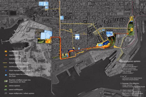 Εικόνα 4: Γενική διάταξη σχεδίου - masterplan