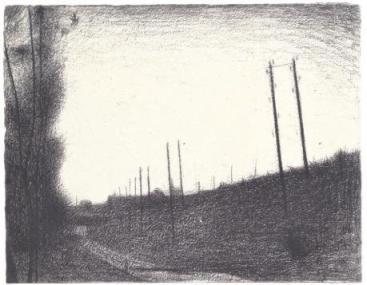 1. Georges Seurat, La voie ferrée, 1881-82, ιδιωτική συλλογή.