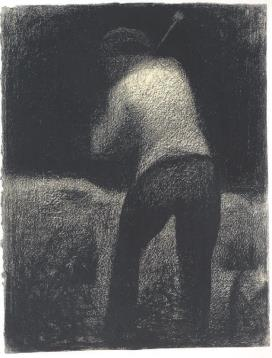 2. Georges Seurat, Casseur de pierres, 1881, ιδιωτική συλλογή.
