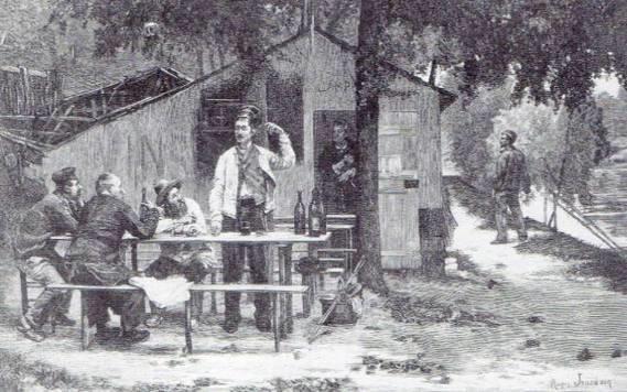 20. Γκραβούρα από τον πίνακα του Roger Jourdain, Le Lundi, L' Illustration, 15 Ιουνίου 1878.