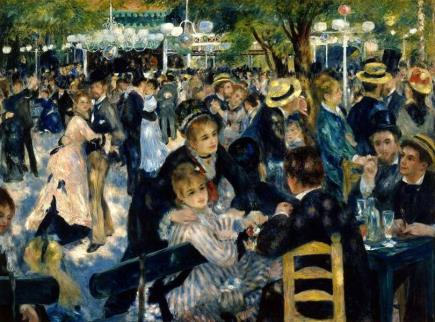 23. Auguste Renoir, Bal du moulin de la Galette, 1876, Musée d'Orsay.