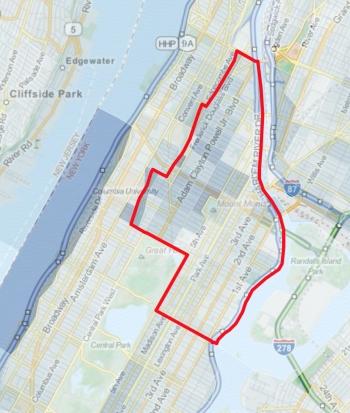 Εικόνα 5: Νέα Υόρκη, 2010: Συγκέντρωση σε ποσοστά % των κενών και άδειων χώρων (κτίρια, διαμερίσματα, κ.λπ.)