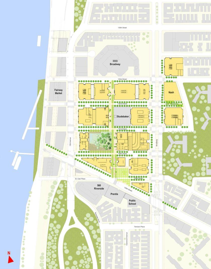 Εικόνα 9: Το Manhattanville Project, 3η Φάση, 2030.