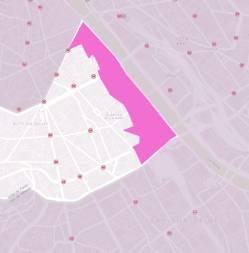Εικόνα 18: Το ZAC Paris Rive - Gauche σε σχέση με το 13ο Διαμέρισμα του Παρισιού.