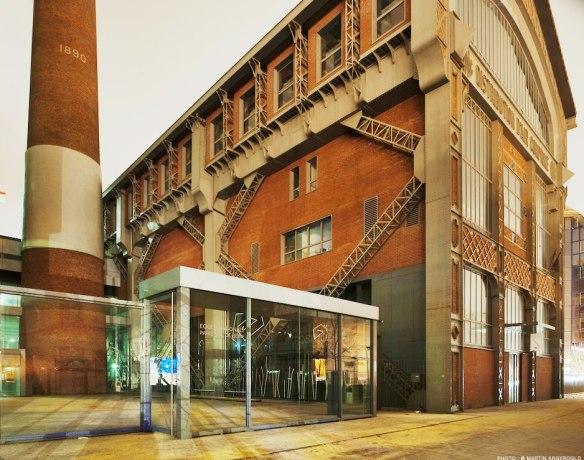 Εικόνα 25: Επανάχρηση βιομηχανικών κτιρίων - Το εργοστάσιο συμπίεσης αέρος μετατράπηκε σε σχολή αρχιτεκτονικής.